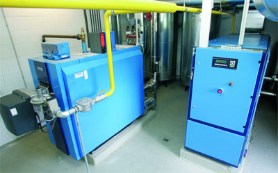 Kraft Wärme Kopplung Anlage