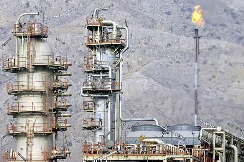 Gasförderung
