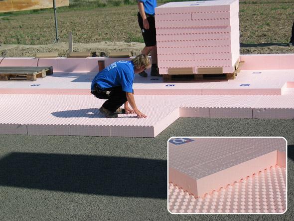 Isolierung Bodenplatte